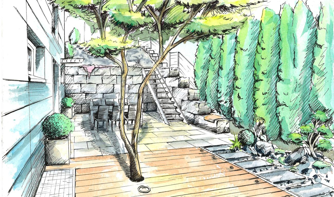 angebot - gartengestaltung - gartengestaltung, Garten ideen